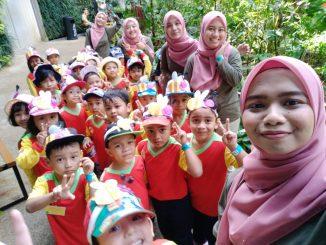 Aktiviti Nur Cemerlang Seberang Jaya Melawat Taman Rama-Rama