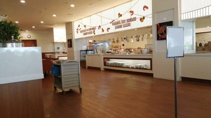 Hidangan Buffet di Evergreen Laurel Hotel Penang