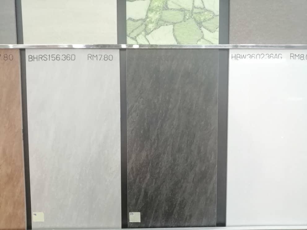 Tiles untuk lantai bilik air