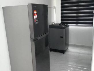 mesin basuh dan peti ais beli di lazada